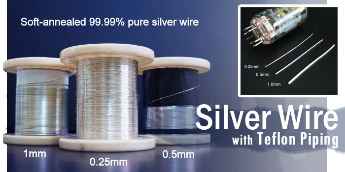 Silver Wire - high purity soft annealed